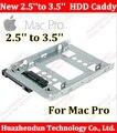 """Для Mac Pro macpro Новый 2.5 """"SSD до 3.5"""" SATA Жесткий Диск HDD Адаптер Caddy Лоток КЛЕТКЕ Горячие Swp Plug так легко Бесплатная доставка"""