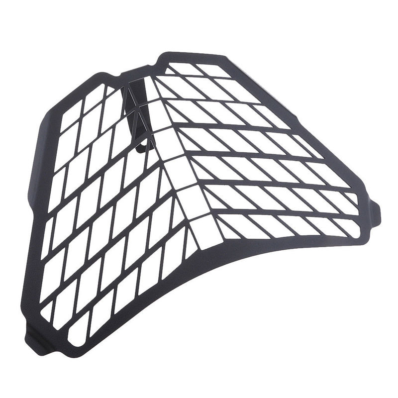 Black Grill Headlight Front Lamp Guard Protector Cover For KTM RC200 RC390