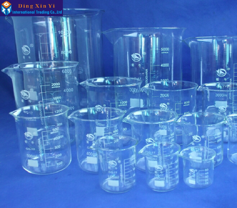 Image 5 - SHUNIU Glass beaker 5000ml,Lab beaker 5000ml,Low form with graduation and spout Boro 3.3 Glass Chinese famous brand-in Beaker from Office & School Supplies