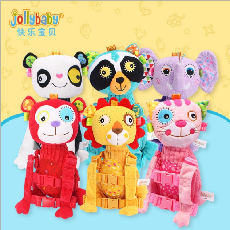 Sozzy Baby Animal Safety Backpack Anti lost Bag Traction Rope Walking Harness Backpack Keeper Toddler Walking Safety Kids Safety-in Harnesses & Leashes from Mother & Kids