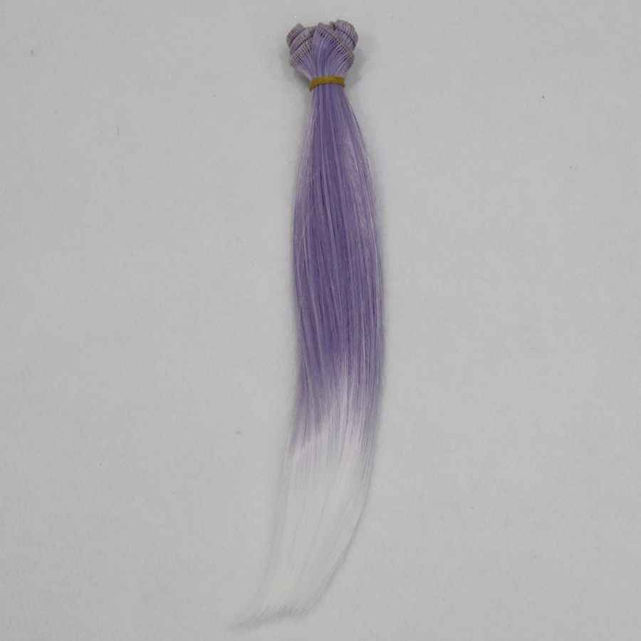 Новые 25 см оптом градиентные прямые волосы/парики для BJD для кукол Blyth Diy куклы ручной работы деревья куклы DIY аксессуары