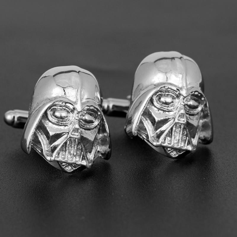2017 Cufflinks Skeleton Pattern Movie DC Comics for Men Cuff Links Shirts Clothing Accessory Cuff Button Collect Gift Wholesale