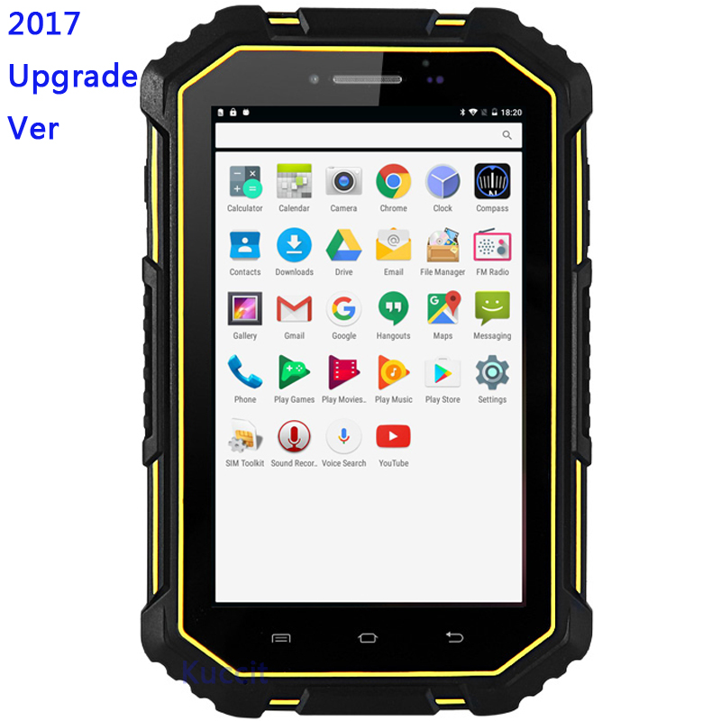 China M16 IP67 Rugged Tablet PC Android 6.0 Waterproof phone Dustproof 4G LTE 2G RAM Quad core Dual SIM GPS American version