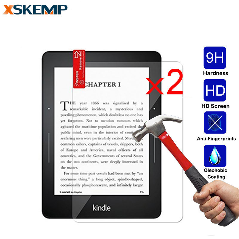 """10Pcs Tempered Glass Screen Protector For Amazon Kindle paperwhite 2//Voyage 6.0/"""""""
