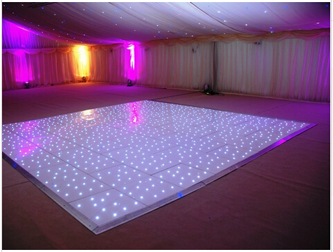 Led Dance Floor 22x20 Feets White Stage Dance Floor For Party Disco