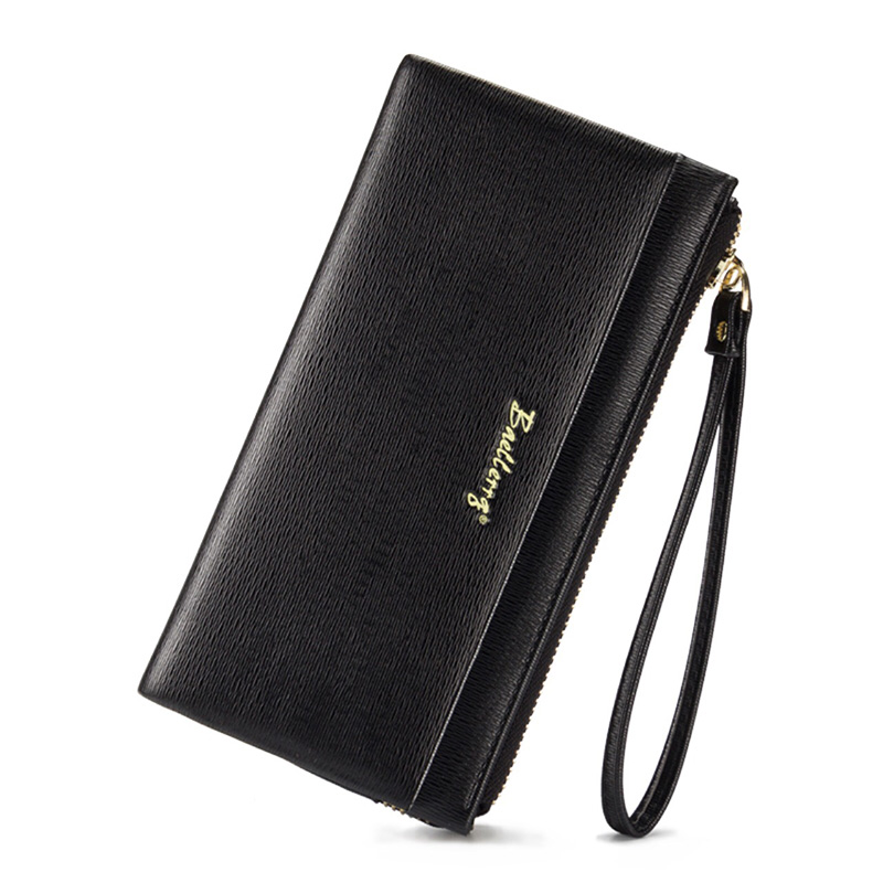 Baellerry Women Wallets Brand Design Leather Wallet Solid Zipper Long Women Wallets And Purses