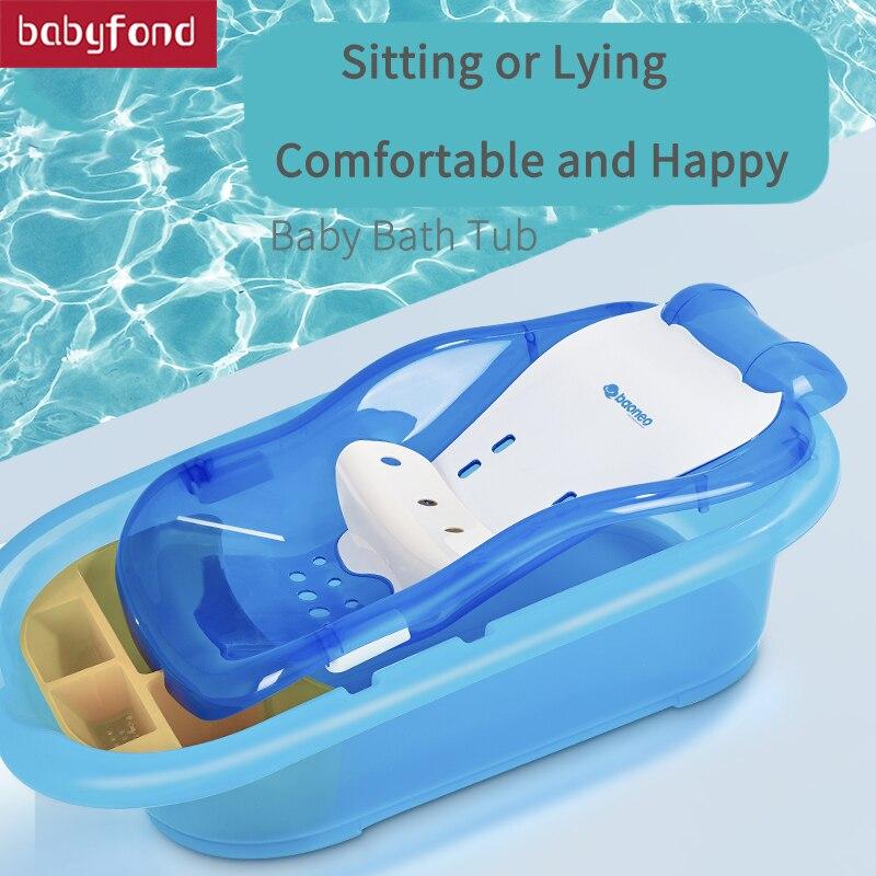 BN baignoire de bébé nouveau-né bain peut s'asseoir mensonge grand fournitures universel non-bisphénol multifonctionnel de bain