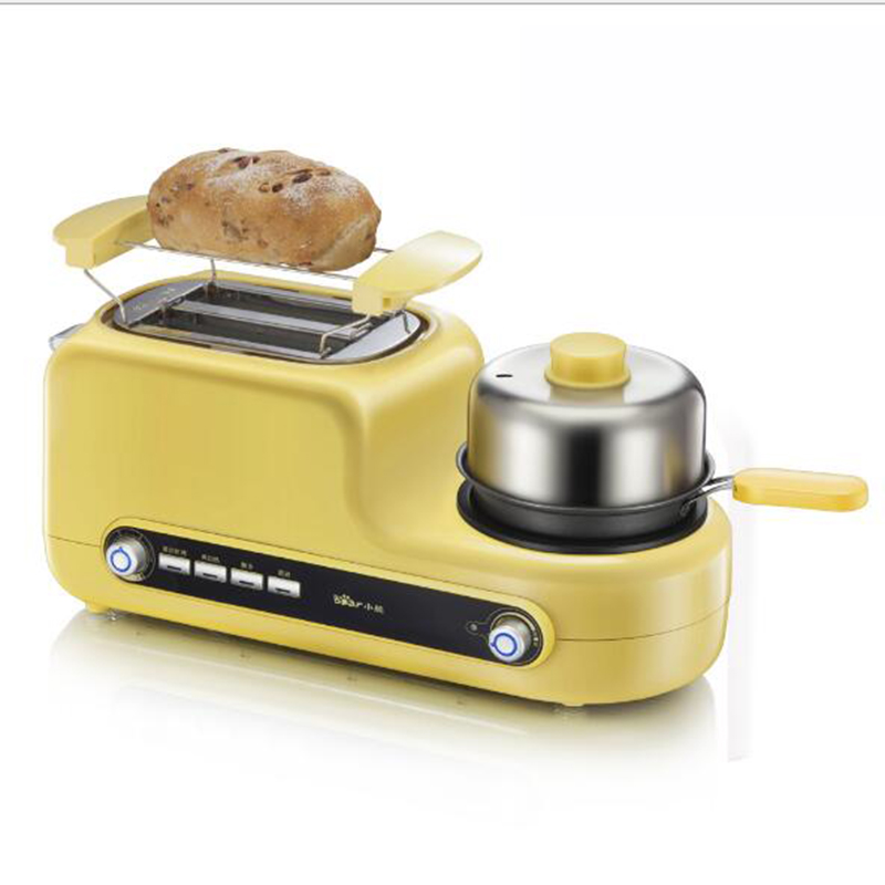 Multifunctional breakfast machine Toaster Bread baking machine Egg cooker Bacon frying machine DSL-A02Z1 innovative owl shape silicone egg frying mould frying pancake mold breakfast mould creative kitchen supplies for diy present