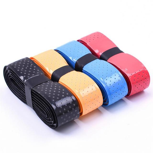 New Badminton Sweat Belt Tennis Racket Band Towel Hand Glue Take-up Strap Handshake Handle Multi-color Optional Tennis Racket 2