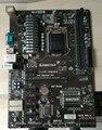 Usado original para biostar hi-fi p61s2 lga 1155 ddr3 6 pci e-e h61 motherboard mineração (substituição para asrock h61 btc pro)