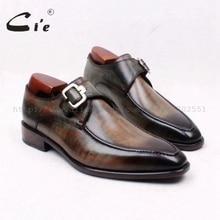 Cie/Мужские дышащие туфли на плоской подошве, с квадратным носком, ручной работы, с ремешком, из натуральной телячьей кожи, ручной работы; 127