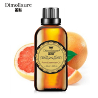Dimollaure Grapefruit Essential Oil Aromatherapy Humidifier Fragrance Lamp Essential Oil SPA Skin Care Purifying Air Help