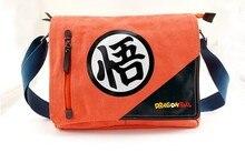 Anime Dragon Ball Cosplay Anime alrededor de la bolsa de Mensajero de viaje de regalo de cumpleaños hombres y mujeres bolsa de hombro