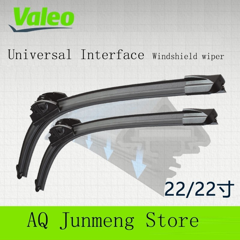 Valeo Preferred 22/22 Sets Wipers for Buick Regal Love Dir Mg Scenic Honour Line wiper blade