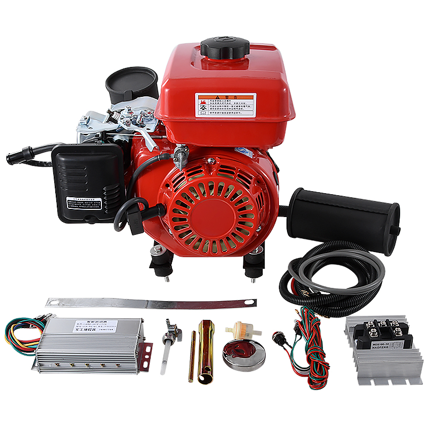 novo controlador de processo do extensor da escala do gerador da gasolina do dobro silenciador 3000r