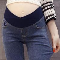 Low Waist Slim Maternity Jeans 2019 Spring Autumn F Skinny Denim Pregnancy Trousers Pants Clothes for Pregnant Women SH-1736