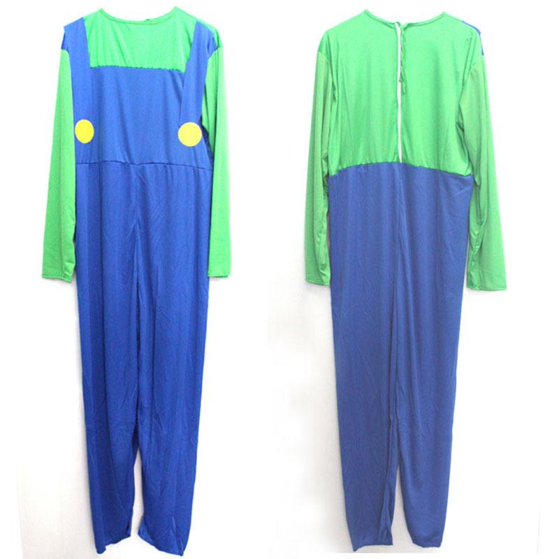 Umorden Halloween Costumes Super Mario Luigi Կոստյումներ - Կարնավալային հագուստները - Լուսանկար 5