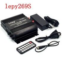 10 шт./лот Bluetooth Lepy 269S 4 канальный усилитель мощности автомобиля домой+ 5A Мощность адаптер