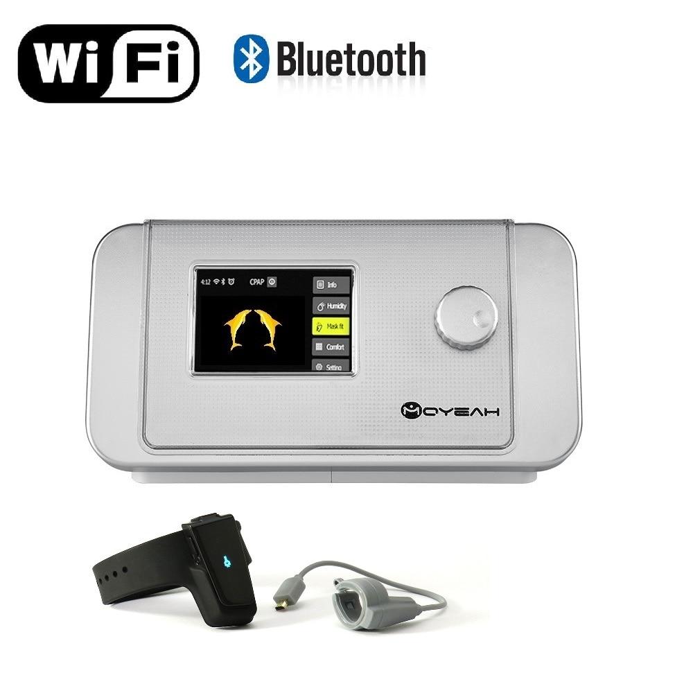 MOYEAH APAP マシン/自動 Cpap マシン医療機器アンチいびき睡眠補助腕時計と無線 Lan 睡眠時無呼吸抗いびき  グループ上の 美容 & 健康 からの CPAP の中 1