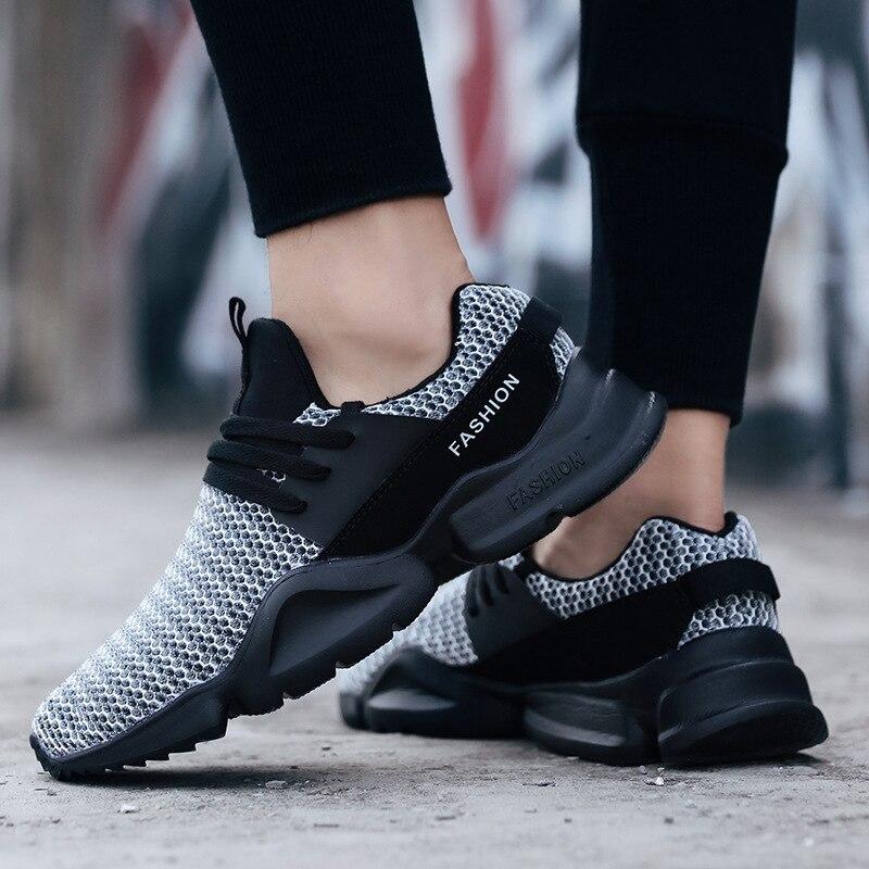783c994cbf43 Mujer Femenino Casuales Casas Black Plus Moda Chaussures grey ...