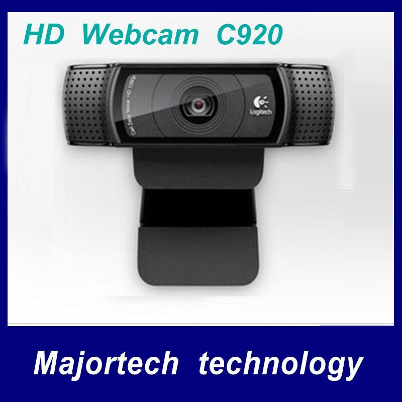 Logitech C920 HD Webcam 1080p  Webcam Video , Conferencing Camera