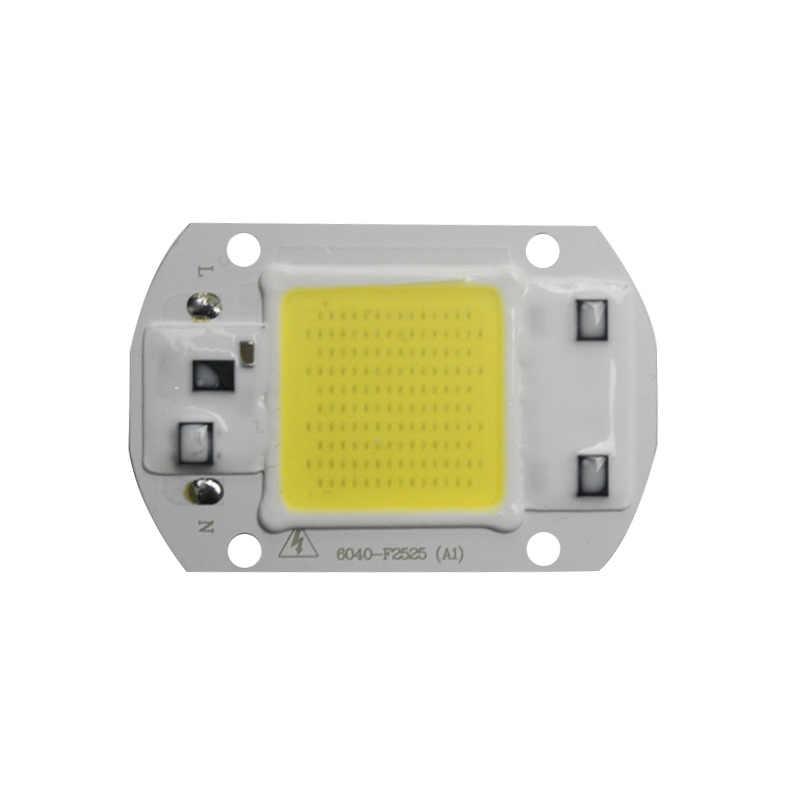 COB LED Lamp Chip 110V 220V Smart IC No Driver Ampoule LED Bulb Flood Light Spotlight 20W 30W 50W DIY Floodlight Lighting