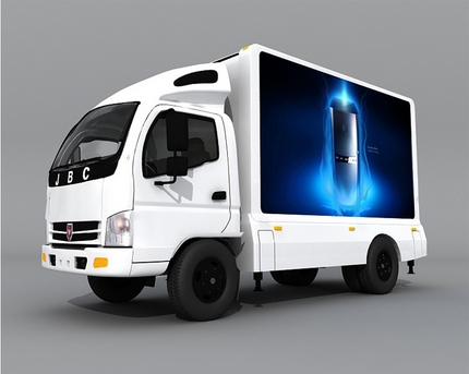 P6 Outdoor Mobile Car Display Car  P6 Outdoor Full Color Led Screen Manufacturers Moving Video Surveillance CCTV Monitor Display