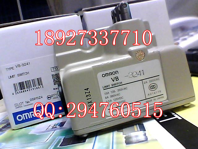 [ZOB] New original Omron omron limit switch VB-3241 factory outlets [zob] 100% new original omron omron proximity switch tl g3d 3 factory outlets