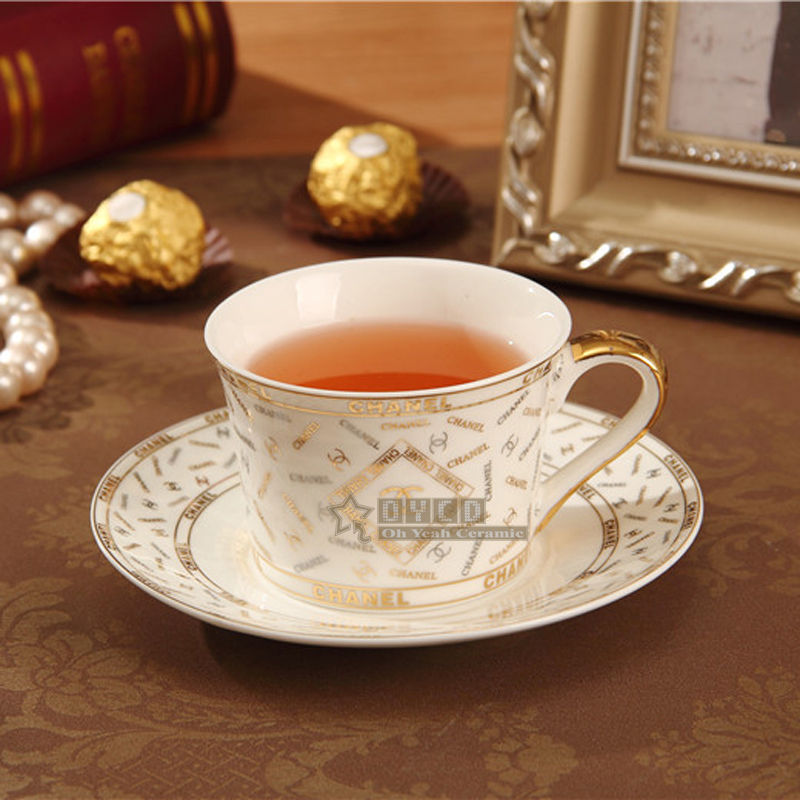 Popular tea cups and saucers buy cheap tea cups and for High end coffee mugs