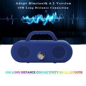 Image 4 - CM86 Portable Bluetooth Speaker Outdoor wireless column Waterproof Computer Speaker Soundbox With TF Card And USB FM radio