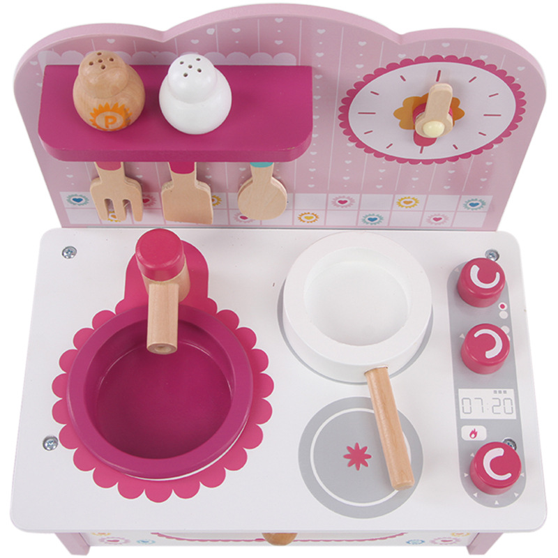 Baby Cooking Toy Kid Cooking Set Wooden Play Kitchen Toy Kitchen For