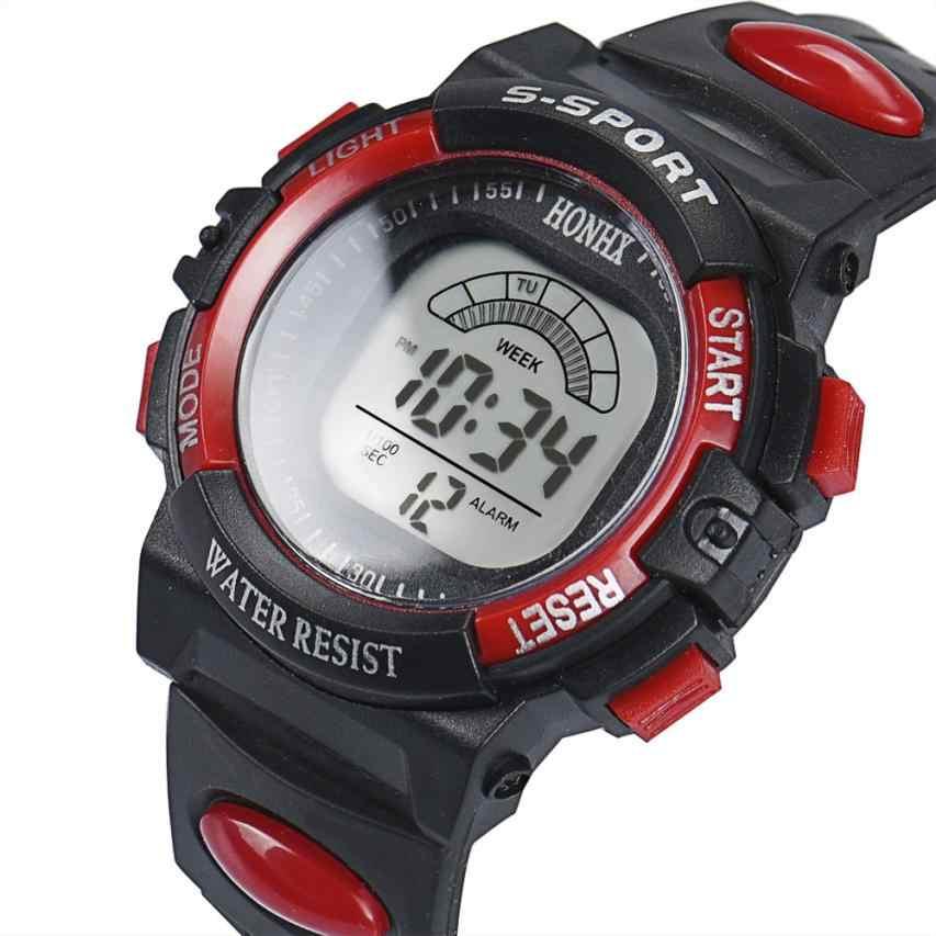 New Hot Moda Mens Digital Analógico LED Alarm Quartz Data Sports Relógio de Pulso relógio do esporte relogio masculino orologio uomo