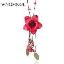 Wngmngl 2018 новые элегантные женские ювелирные изделия ручной