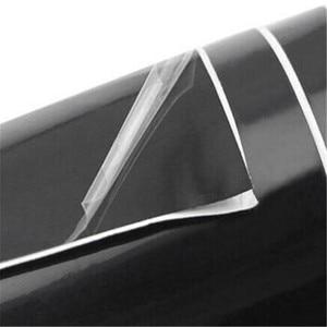 High Quality Black Glossy Vinyl Film Piano Car Boat Trucks Computer Phone Gloss Wrap Adhesive Air Bubble Free Car Wrapping Sheet