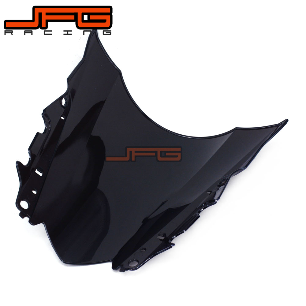 Image 5 - Black Windscreen Windshield for Yamaha YZF R3 YZFR3 YZF R3 YZF R25 YZFR25 YZF R25 2015 2016 2015 2016 Motorcycle-in Covers & Ornamental Mouldings from Automobiles & Motorcycles