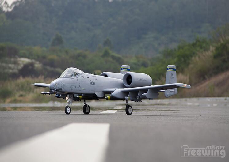 Freewing Twin 80 мм EDF RC/реактивный самолет A10 A-10 PNP или набор и сервопривод