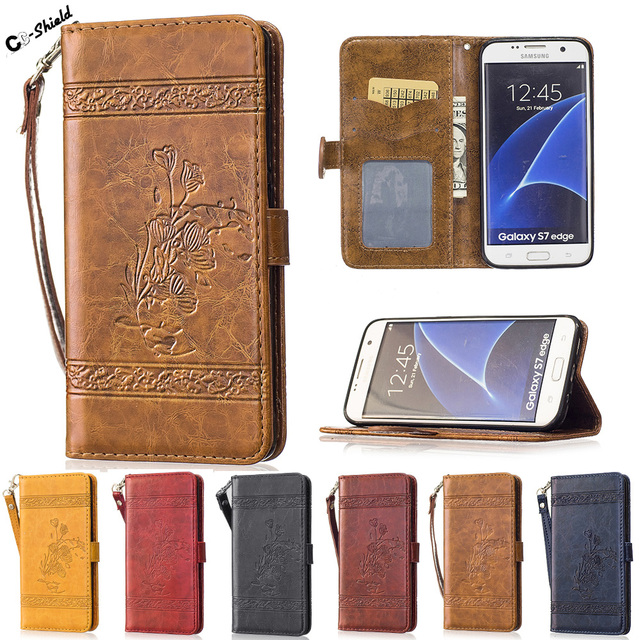 Flip Case SM-G935fd for Samsung Galaxy S7 S 7 Edge G935FD Case Phone Leather Cover for Samsung S7edge S 7edge G935F SM-G935F Bag