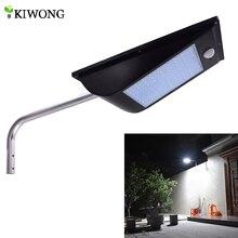 Alta qualidade de energia ao ar livre ip65 1000 lúmen 81 leds integrado luz rua solar sensor movimento lâmpadas solares