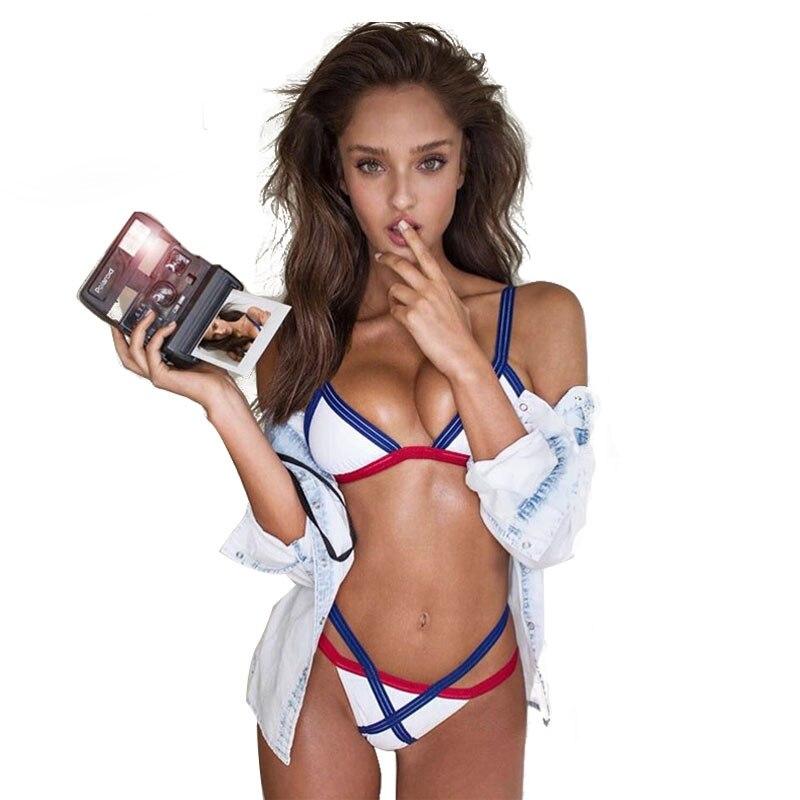 4d6561a107805f 2017 Brazilian Sexy Bikini set Bandage Swimsuit Biquinis micro mini Thong  Swimwear Women Bathing Suit Maillot