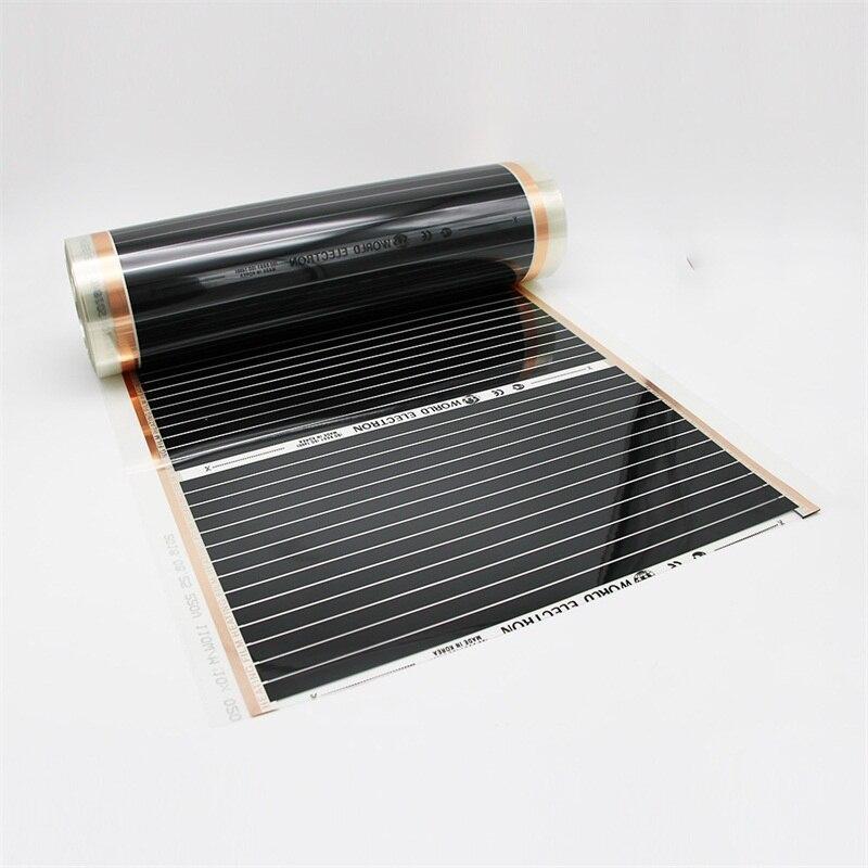 8M2 Infrared Heating Warming House True Warm 52C degrees Carbon Fiber Heating Foil Mat