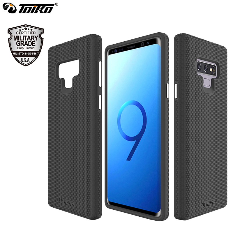 71ff695d555 TOIKO X Guard 2 in 1 Armor Case for Samsung Galaxy Note 9 Back Phone Cover  Hybrid Hard PC TPU Bumper Shockproof Protection Shell-in Fitted Cases from  ...
