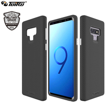 TOIKO X Guard 2 in 1 Armor Case for Samsung Galaxy Note 9 Back Phone Cover Hybrid Hard PC TPU Bumper Shockproof Protection Shell toiko chiron clear case for samsung galaxy note 10 shockproof protection bumper shell note 10 plus pro hybrid pc tpu back covers