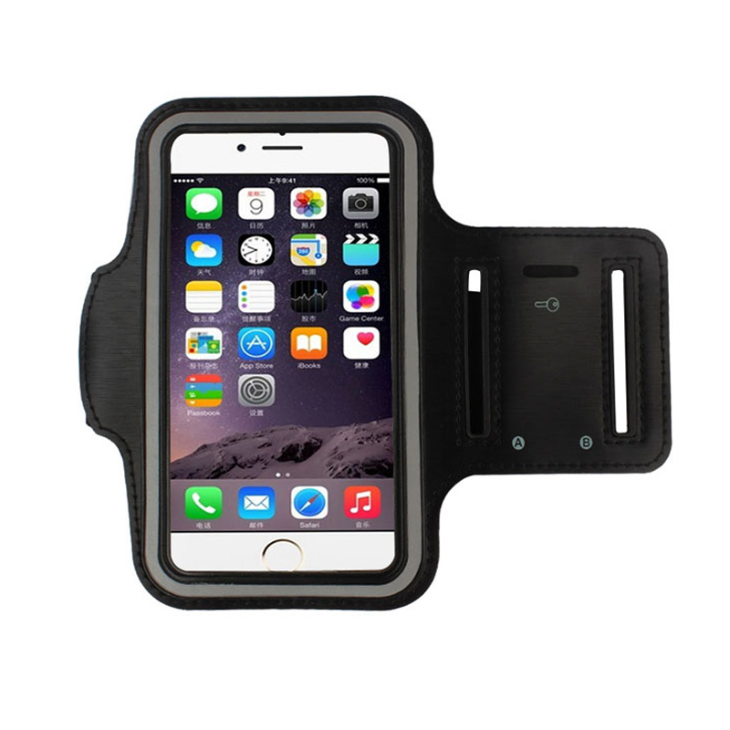 Wolfsay Waterproof Sport Arm Band For iPhone 7 6 Case For Samsung Galaxy S7 J5 Phone Bag Running Band Gym Cover Huawei P8 lite]<