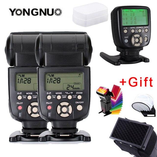 2 個 YN560 III フラッシュスピードライト光 YN560TX II 液晶ワイヤレス手動フラッシュキヤノンニコンカメラ