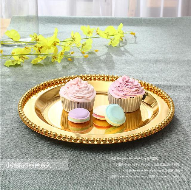 D 25cm/30cm round cake pancake decorating tools wedding decoration ...