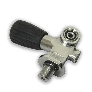 Image 2 - AC951 Acecare Pcp バルブ高圧 4500Psi M18 * 1.5 スレッド炭素繊維ガスシリンダースキューバダイビングタンクペイントボールタンク