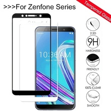 Tempered Glass For ASUS Zenfone Max Pro M1 ZB602KL ZB555KL 5 5Z Live L1 ZA550KL ZE620KL ZS620KL 6Z 6 ZS630KL Screen Protector 9H сотовый телефон asus zenfone 5 ze620kl 4 64gb midnight blue