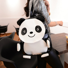 Мода cute panda девочек-подростков рюкзак опрятный mochali panda кожаная сумка слон рюкзак женщины новые марка backpackfas blosas