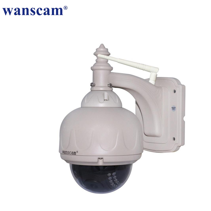 HW0038 720P Wireless WiFi IP Camera Outdoor PT Auto-focus Waterproof H.264 HD CCTV Security Camera Wifi Night Vision wifi 720p camera 1 0 megapixels hd h 264 onvif 2 0 4 mini security wireless outdoor waterproof ip66 night vision cctv camera