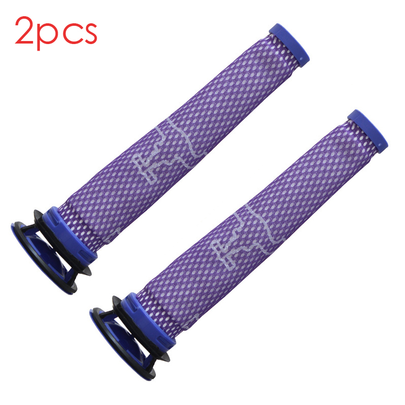 2 set Replaces for dyson v6 v7 v8 dc62 DC61 DC58 DC59 DC74 Vacuum Cleaner Filter Part Fette Filter universal vacuum cleaner accessories connector adapter converter for dyson v8 for v7 cord free